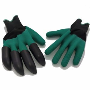 Digging Gloves/Convenient and Comfortable Garden Gloves (FKS02) pictures & photos