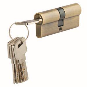 Knob Open Brass Security Door Lock Cylinder (45D) pictures & photos