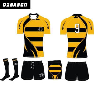 Sublimation Popular Rugby Jersey for Adults pictures & photos