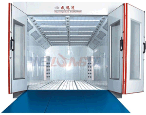 Wld8400 European Countries Water Based Paint Spray Booth pictures & photos