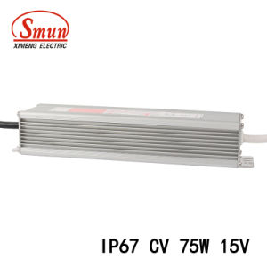 Smv-75-15 75W 15VDC 5A Constant Voltage Switching LED Power Supply pictures & photos