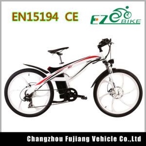 Full Suspension Electric Mountain Bike Tde01 pictures & photos