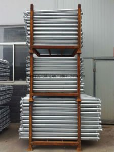 Hot DIP Galvanized Cuplock Scaffolding Ledger for Building Material pictures & photos
