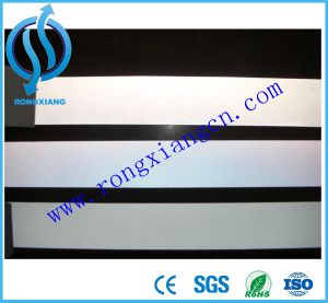 Silvery Double Sides Reflective Stretch Fabric, High Visibility Reflective Fabric Tape, Reflex Materials pictures & photos
