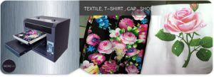 Black and Dark Textile Printing Machine, T-Shirt Printer pictures & photos