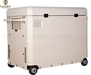5kVA 3-Phase Silent Type Diesel Generator with Top Cover pictures & photos