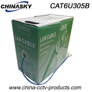 High Speed UTP CAT6 LAN Cable for Video Surveillance (CAT6U305B) pictures & photos