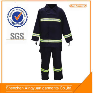 Navy Blue Color Firefighters′ Working Uniform/Reflective PPE Clothing