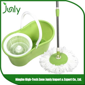 360 Degree Easy Floor Microfiber Magic Spin Mop pictures & photos