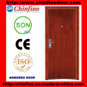 High Security Steel-Wood Armored Doors (CF-M008) pictures & photos