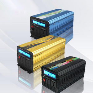 1000W DC12V/24V Pure Sine Wave Power Inverters with LCD Display pictures & photos