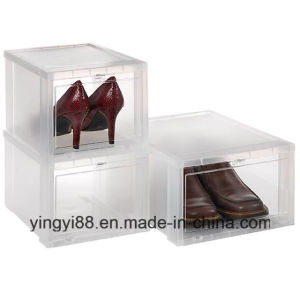 Top Selling Drop Front Shoe Box Shenzhen Manufacturer pictures & photos