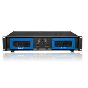 Sound System Double Channel PRO Audio Professional Power Amplifier (B-1300) pictures & photos