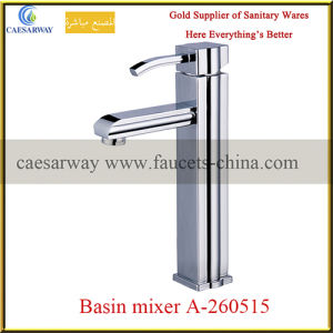 Chrome Plated Bathroom Long Body Basin Faucet pictures & photos