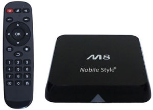 M8s Android TV Box A9 Quad Core pictures & photos