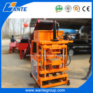 Wt2-10 Free Fire Hydraulic Press Hollow Brick Machine pictures & photos