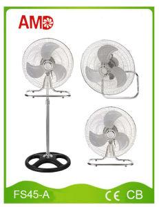 18 Inch 3 in 1 Electric Stand Fan Table Fan Wall Fan (FS45-A) pictures & photos