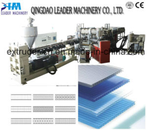 Lexan Polycarbonate Flate Roofing Machine pictures & photos