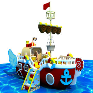 Pirate Indoor Soft Playground Equipment on Stock pictures & photos