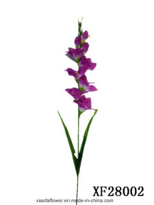 Artificial/Plastic/Silk Flower Single Stem of Gladiolus (XF28002) pictures & photos