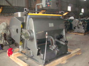Die Punching Creasing Machine for Dubai Client Ml-1500 Since 2005 pictures & photos