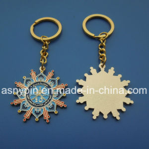 Metal Golden Enamel Oman Keychain pictures & photos