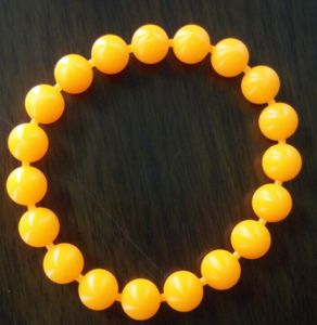 Colorful Design Silicone Bead Bracelets pictures & photos