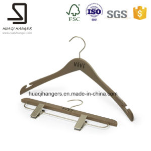 Beech Wood Hangers, Luxury Clothes Pants Hangers pictures & photos