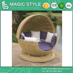 Wicker Sunbed Rattan Daybed Leisure Daybed Outdoor Furniture Patio Furniture Garden Furniture (Magic Style) pictures & photos