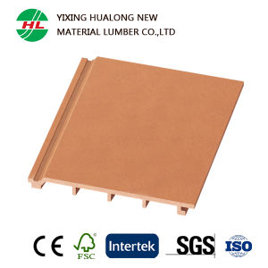 Wood Plastic Composite WPC Wall Panel for Outdoor (HLM2) pictures & photos