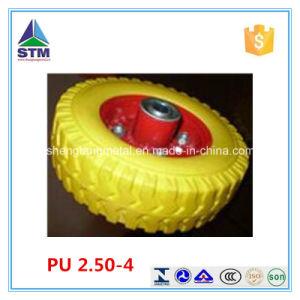 Environmental-Friendly 2.50-4 Polyurethane Raw Material Wheel pictures & photos