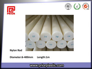 High Density Natural Color Nylon Plastic Rod pictures & photos