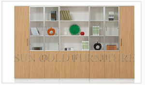 Luxury Bookshelf Modern Simple MDF File Cabinet (SZ-FC068-1) pictures & photos