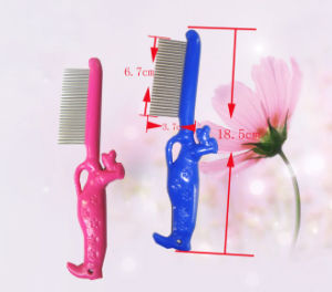 Pet Plastic Flea Lice Comb for Pet Cleaning pictures & photos