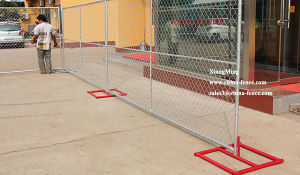 Chain Fence Chain Link Construction Temporary Fence Metal Fencing pictures & photos