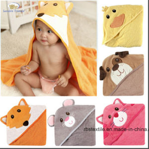 100% Cotton Printing Design of Baby Blanket with High Quality pictures & photos