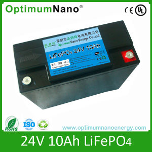 LiFePO4 Battery 24V 10ah for Cleaning Machine with PCM pictures & photos