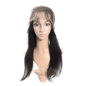 Middle Size Cap Brazilian Full Lace Wig pictures & photos