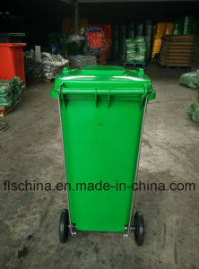 Good Quality Pedal Plastic Garbage Bin Waste Bin 120L pictures & photos