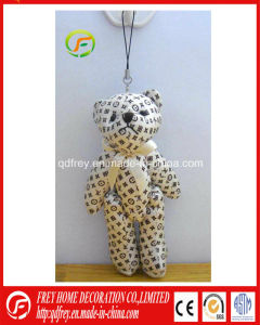 Cute Mini Teddy Bear Keychain Toy for Holiday Promotion