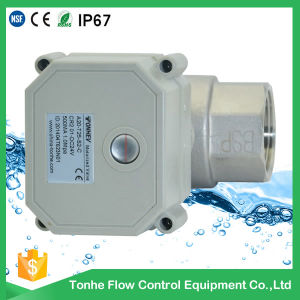 2 Way Stainless Steel Motorized Water Valve Approved NSF-61-G pictures & photos