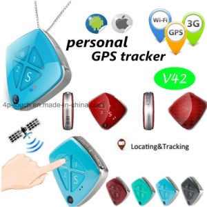 Mini 3G GPS Tracker with Camera in Pendant (V42) pictures & photos