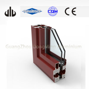 Aluminium Windows and Doors Profiles Aluminium Tilt and Turn Frame