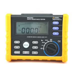 Ms2302 Digital Ground Earth Resistance Voltage Tester Meter pictures & photos
