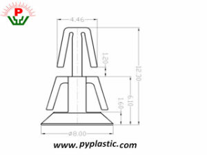 Factory Price Best Plastic Price PCB Spacer Support pictures & photos