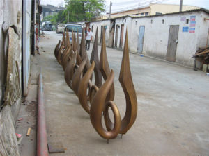 Fire, Indoor, Outdoor Garden Metal Abstract Sculpture Decoration pictures & photos