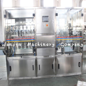 Automatic Edible Oil Bottle Filling Capping Labeling Machine Production Line pictures & photos