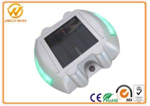Yellow / Blue / Green Reflective Road Studs with 6 LEDs Mono Crystalline Solar Panel pictures & photos