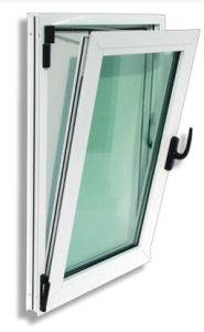 Double Glazed UPVC Window PVC Casement Tilt and Turn Glass Window pictures & photos