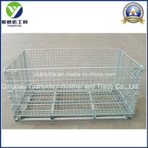 Steel Wire Mesh Pallet Containers for Warehouse Storage pictures & photos